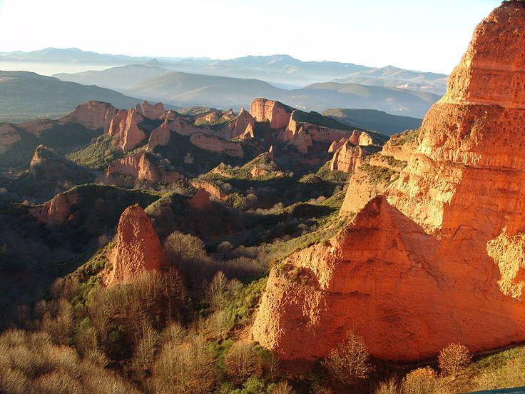 Las Médulas, province of León, Spain Picture taken by Rafael Ibáñez Fernández