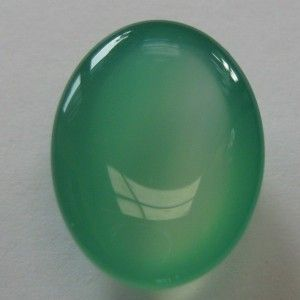 Chalcedony Bening Hijau Gradasi 9.90 carat