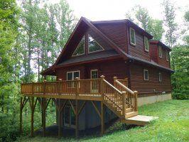 Deer Run Blue Ridge Mountain Boone and Blowing Rock NC Cabin Rentals