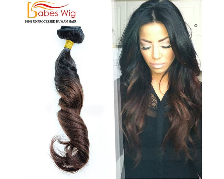 100% Real Human Hair Clips In Hair Extensions Full Set Ombre Hair Extensions // Black to Brown //Virgin Remy Clip-In Hair Extensions by BABESWIG on Etsy https://www.etsy.com/listing/257028575/100-real-human-hair-clips-in-hair