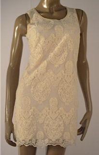 Vestido coctel natural $160.000