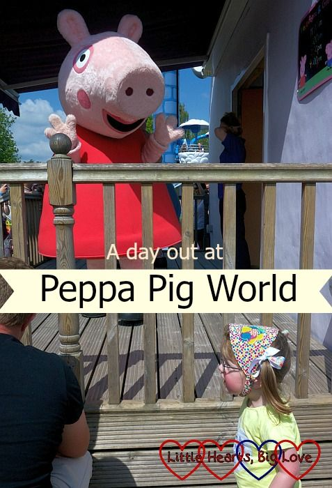 A day out at Peppa Pig World - Little Hearts, Big Love
