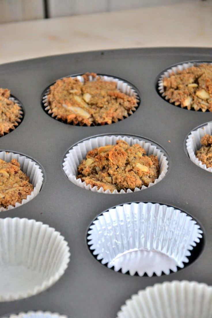 Vegan Vanilla Almond Cupcakes {Gluten-Free, Paleo, Grain-Free, Dairy-Free}