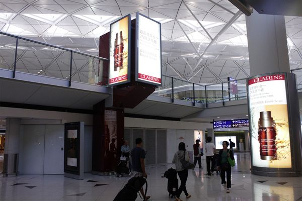 Motion Design to Print at HK International airport