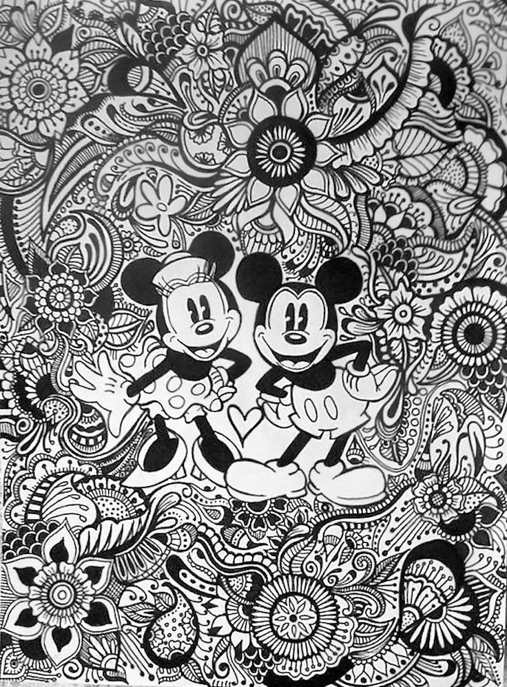 Disney Zentangle Coloring Pages : Best images about adult coloring pages on pinterest