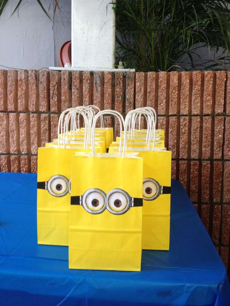 Despicable Me Birthday Party Ideas | Photo 9 of 24 | Catch My Party