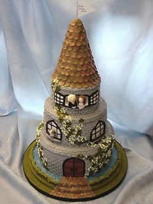 Basket Weave Wedding Cake Pictures