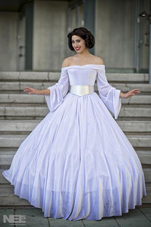 Beautiful Princess Leia Ball Gown