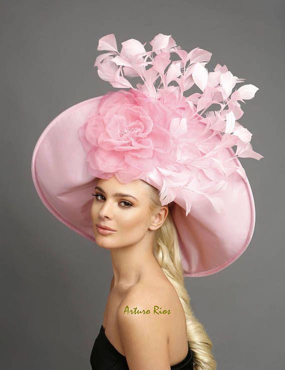 Baby Pink derby hat d385d732707
