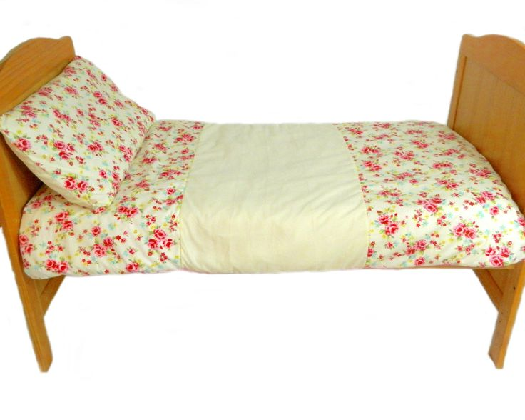 roses and cream toddler duvet set by Tinytoadcreations on Etsy