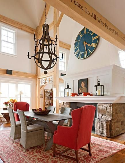 Rooms Homes Decorating Living Dining Rooms Decorating Styles Country