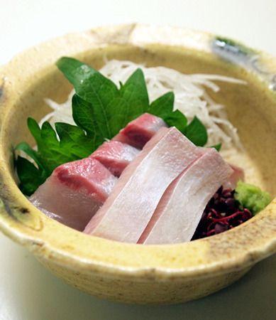 和食の献立: Mikageマダムの夕食レシピ2007~ 脂がのっていてコリッとしてとても美味しいヒラマサでした。