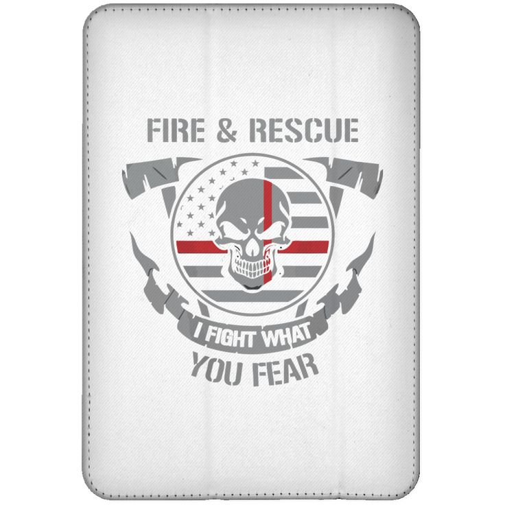 fire figher Recure I flight what you fear iPad Mini Flip Case