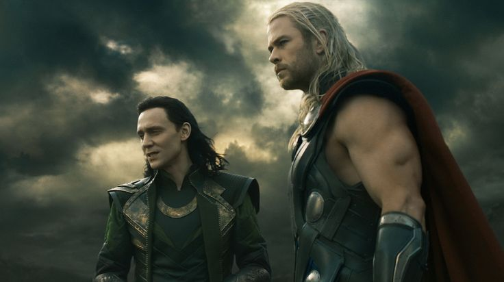 Can you picture @mrsilverscott and me as @Marvel characters, Thor & Loki this #Halloween?