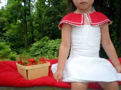 Adorable Little Red Riding Hood