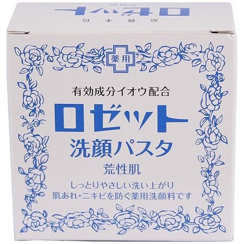 ロゼット 洗顔パスタ 荒性90g:ヘルス&ビューティー:トライアルネットストア l ドリンク、米から家電など激安 通販サイト