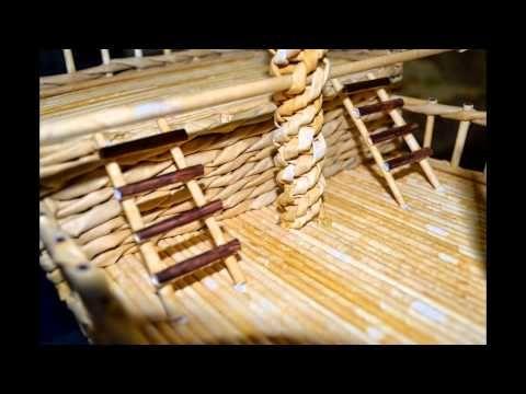 В этом видео подробно и поэтапно я показываю от начала и до конца как делать корабль из бумажной лозы