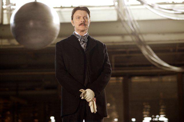 David Bowie as Nikola Tesla in The Prestige. - steampunk