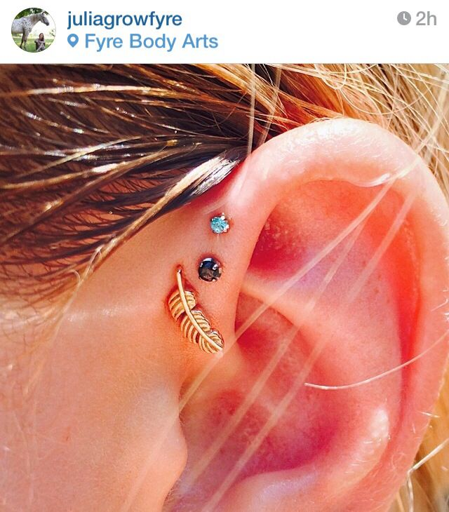 Triple forward helix - this woman has amazing work