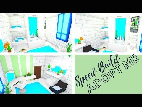 Adopt Me Speed Build Adopt Me Bathroom Design Adopt Me Building Hacks Adopt Me Futuristic House 1001 In 2020 Cute Room Ideas Sims House Design Adoption