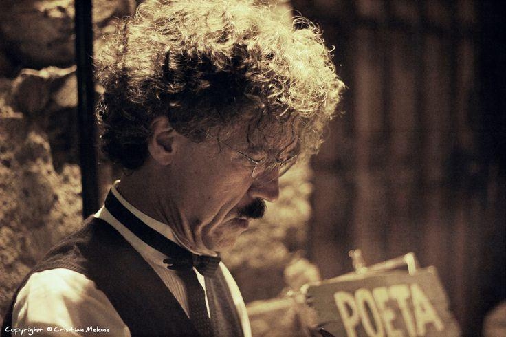 Poeta #Mercantia2014 @Mercantia @comunecertaldo #Certaldo #Valdelsa #Florence #Tuscany  by Cristian Melone on 500px