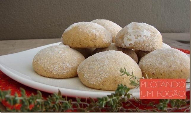 Receita de polvorones, deliciosos bolinhos mexicanos feitos com nozes.