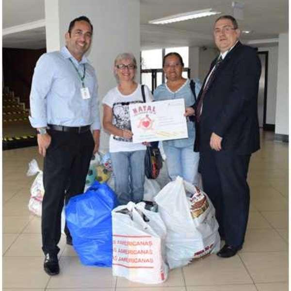 Banco da Amazônia realiza entrega de donativos arrecadados durante Gincana