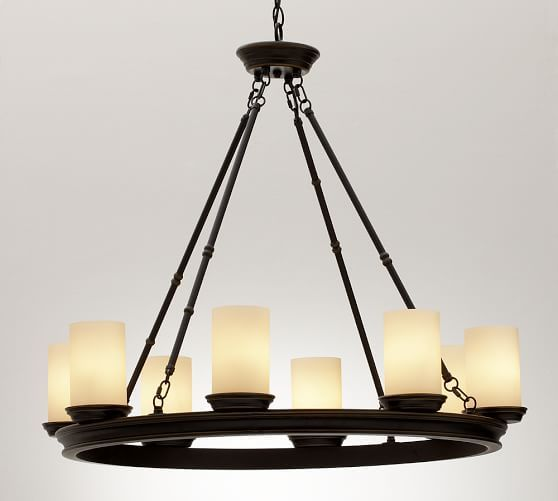 Veranda Round Chandelier Bronze Finish My Favorite