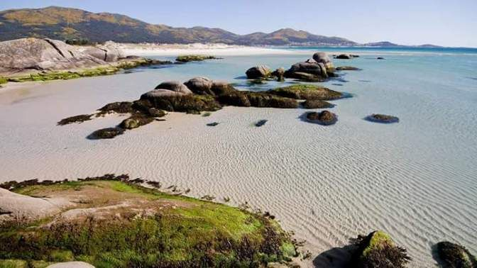 Playa De Carnota Un Espectáculo Playa Carnota Playas Paradisiacas Playa