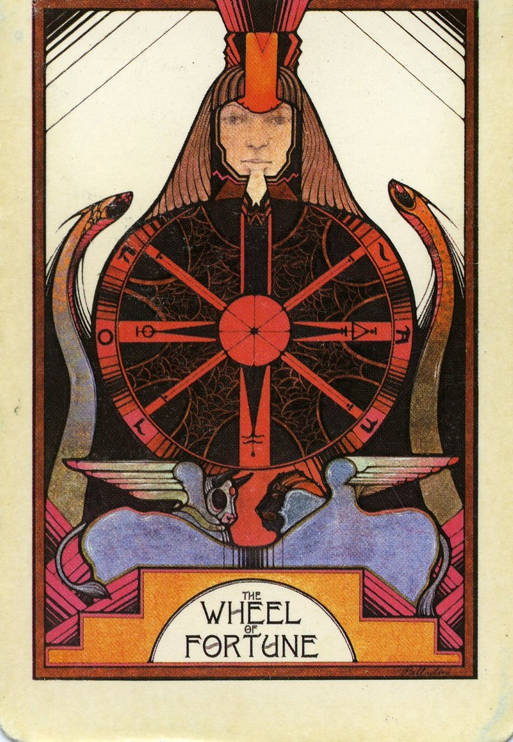 93 Best Images About Wheel Of Fortune (Tarot Card) On