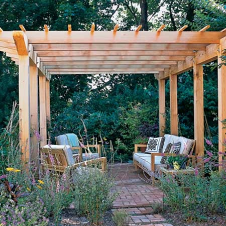 Want it: Gardens Ideas, Backyard Inspiration, Lakes House, Area Ideas, Outdoor Living,  Terraces, Outdoor Spaces, Gardens Stuff, Back Yard