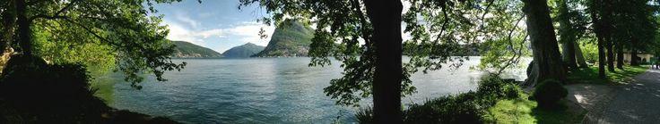 lungo lago lugano