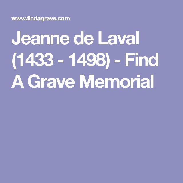 Jeanne de Laval (1433 - 1498) - Find A Grave Memorial