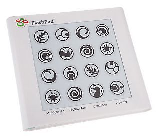 Flash Pad Touchscreen Electronic Handheld Game w/Light & Sound