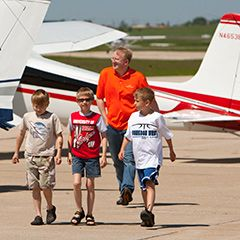 The EAA Young Eagles program takes you from a free introductory flight for youth into the world of aviation. Start your aviation flight plan today!
