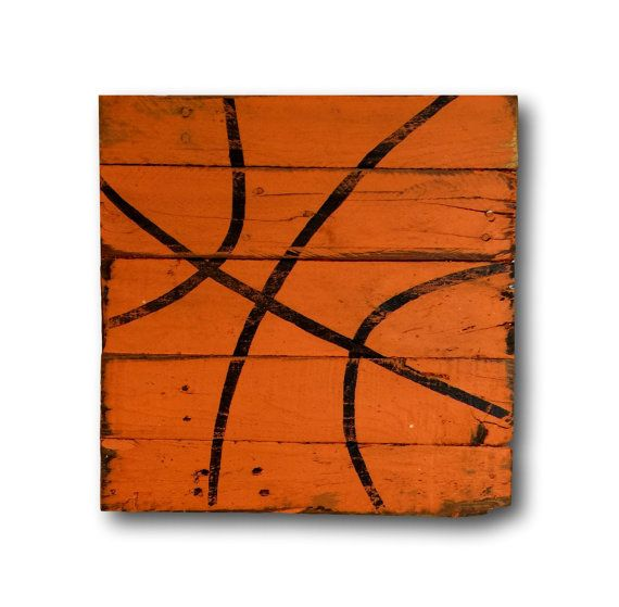 Basketball Pallet Sign – Basketball Bedroom Decor – Basketball Wall Art – Basketball Nursery Decor – Basketball Gift – Coach Gift