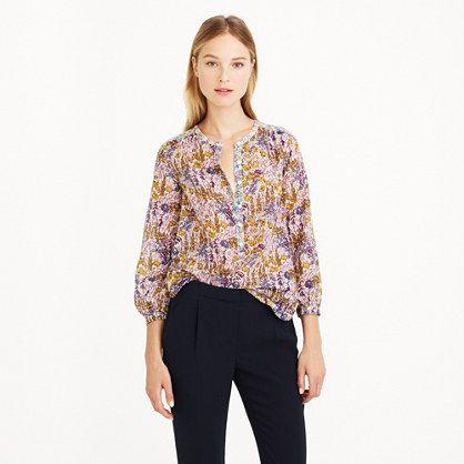 J.Crew - Popover in Liberty mixed floral