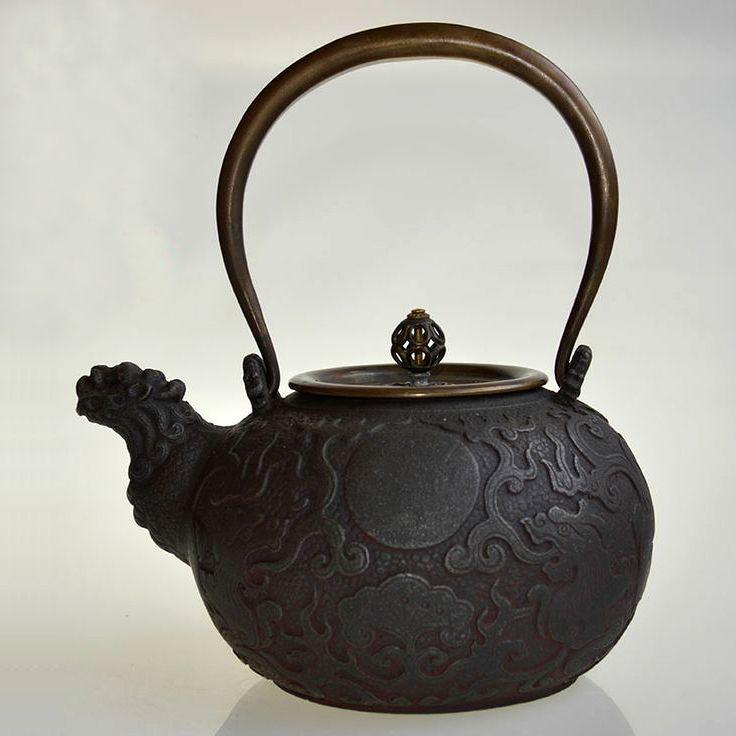 1000 images about japanese cast iron teapots on pinterest - Cast iron dragon teapot ...