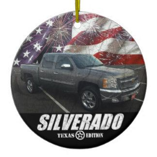 2013 Silverado 1500 Crew Cab LT Texas Edition Ceramic Ornament