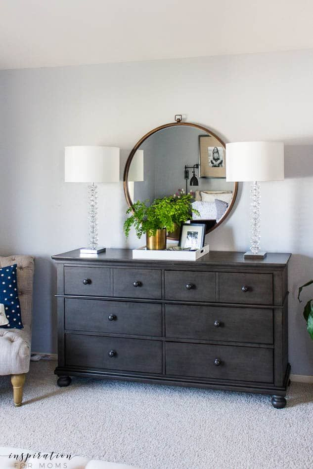 Spring Master Bedroom Refresh | Bedroom black, Home decor ...
