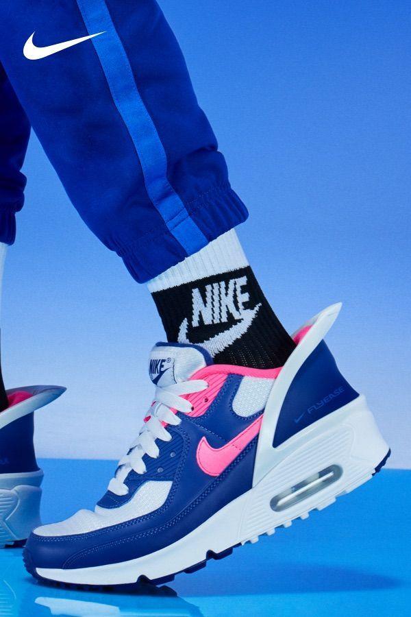 Nike Air Max 90 FlyEase Big Kids' Shoe | Nike air max, Nike air ...