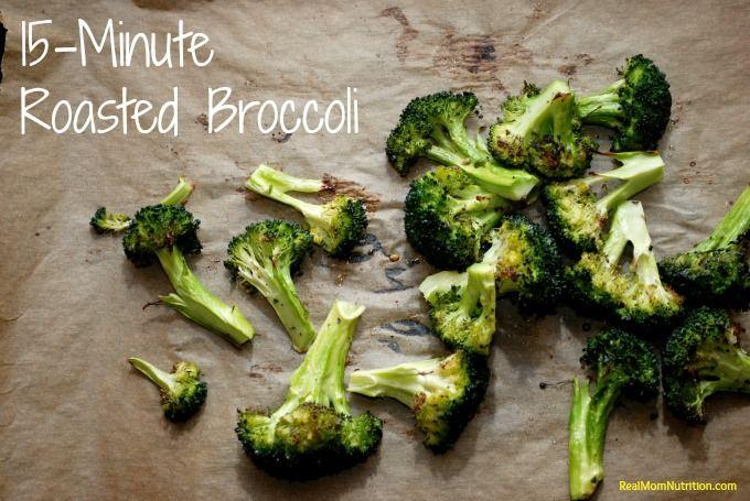 15-Minute Roasted Broccoli