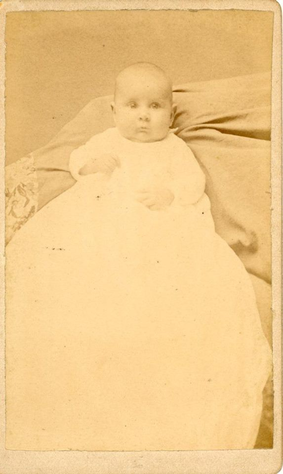 """Unknown"" CDV Cabinet Card photo and the photographer is Ryan's Art Galleries, Springfield & Shelbyville, Illinois."