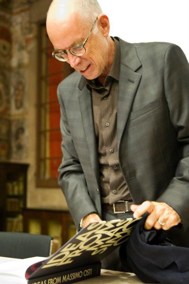 Gabriele Salvatores, 25 october 2012 at Presentation Ideas from Massimo Osti Book, Bologna