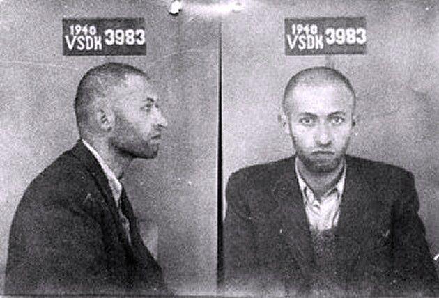 Plus de détails Menahem Begin en 1940, lors de son arrestation par le NKVD