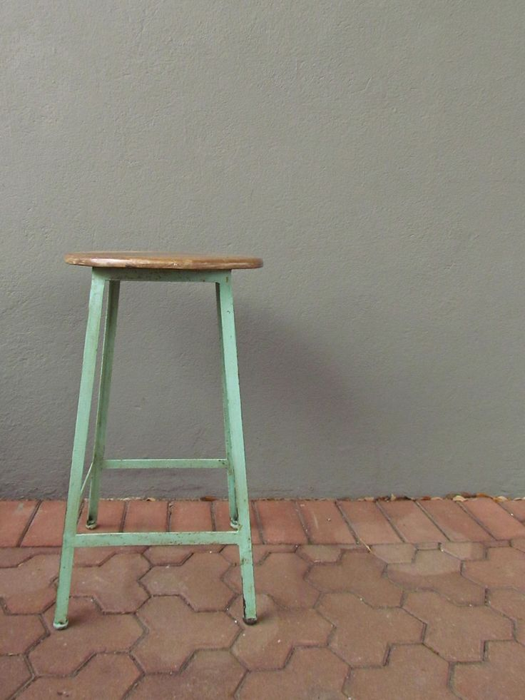 Concord Stool Love The Mint Green I May Refinish My
