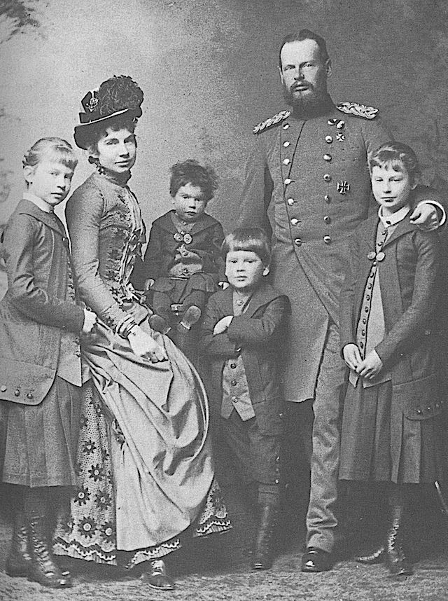 ca. 1885 (estimated by ages of children) Gisela and her family by Joseph Albert