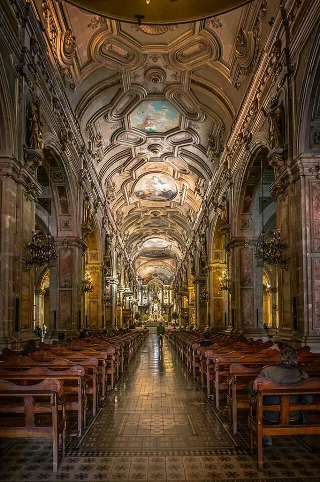 Cathedral in Santiago, Chile