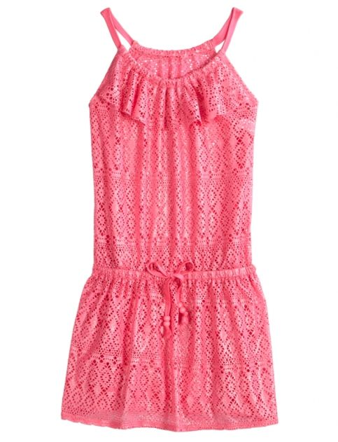Crochet Swimsuit Cover-up | Girls Clearance Features | Shop Justice for Brianna