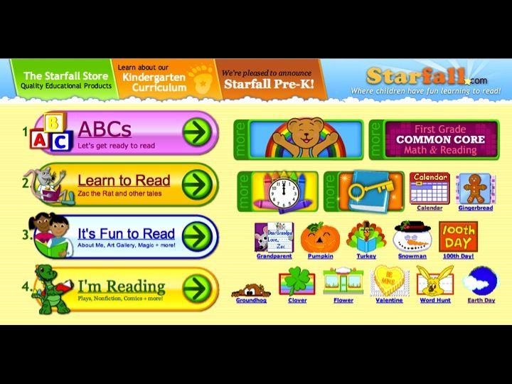 httpwwwstarfallcom free public service to teach children to